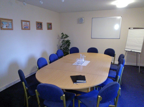 Evesham Rowing Club Boathouse Meeting Room